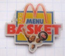 M / MENU / BASKET / NBA / USA  ...... Mc Donald´s-Pin (137h)