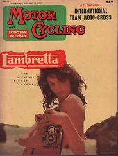 Motor Cycling August 31 1961 Lambrella, International Team Moto-Cross 071717DBE