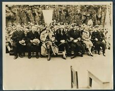DENMARK KING CHRISTIAN QUEEN ALEXANDRINE PARLIAMENT OPENING 1930 Photo Y 109