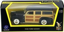 """New In Box 1/43 Scale Diecast Black 1948 Ford  """"Woody""""  for  MTH,Lionel & K-Line"""
