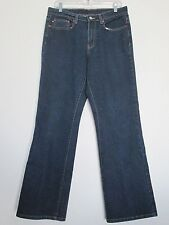 "### New "" Polo Ralph Lauren "" Women Boot Cut Jeans, Medium Dark, Size 10 ###"