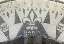 New ListingAntique Navy Hand Philadelphia Boat Compass Militara