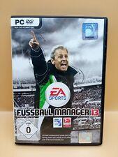 Fußball Manager 13 - EA Sports PC Spiel Computer Games Lucien Favre FM 2013