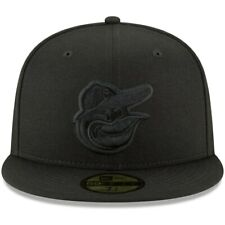 Baltimore Orioles New Era Black Primary Logo Basic 59FIFTY Fitted Hat