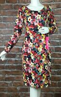 Betsey Johnson Womens Dress Size 8 Floral Print Long Sleeve New (Y21)