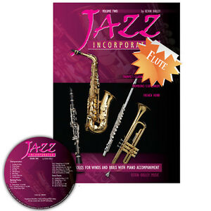 Jazz Incorporated Vol 2 for Flute Book CD Sheet Music Kerin Bailey