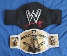 WWE Scratch Logo Intercontinental Championship Replica Belt