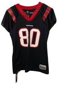 Houston Texans Reebok Team NFL Womens Rhinestone Jersey Size Small Andre Johnson