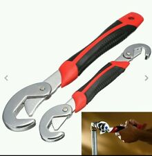 2 pcs ADJUSTABLE 9mm up to 32mm SNAP and GRIP UNIVERSAL WRENCH - UK SUPPLIER car