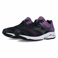 Mizuno Womens Wave Inspire 15 Running Shoes Trainers - Black Pink Sports