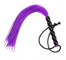 Mini tapette fouet paddle plastique violet accessoire sexy domination fessées SM