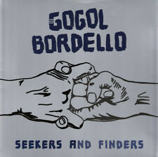 Gogol Bordello - Seekers And Finders LP Blue Marble Colored Vinyl Album Record