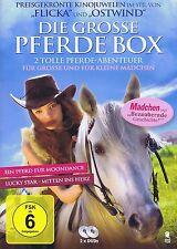DOPPEL-DVD NEU/OVP - Die grosse Pferde Box - 2 toller Pferde-Abenteuer