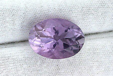 18x13 18mm x 13mm Oval Natural Brazilian Rose De France Amethyst Gem Gemstone