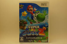 Super Mario Galaxy 2 Japanese Version (Nintendo Wii, 2010)