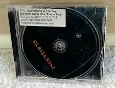 INVENTIONS ADVANCE 2014 CD EXPLOSIONS IN THE SKY Eluvium SIGOR ROS PANDA BEAR