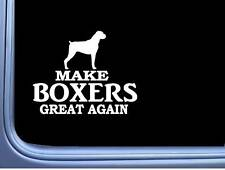 "Boxer Maga Uncropped L713 Dog Sticker 7"" decal"