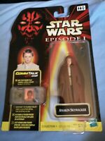 Star Wars Episode 1 Anakin Skywalker Naboo Action Figure CommTalk Carded Sealed