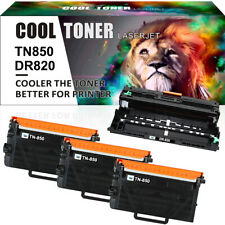 Compatible for Brother TN850 Toner DR820 Drum HL-L6200D HL-L6300DW MFC-L6800DW
