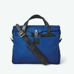 Filson Original Rugged Twill Briefcase Flag Blue New with Tags