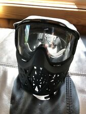 Jt Black Airsoft Paintball Full Face Mask with Jt3B Goggles Eye Protection