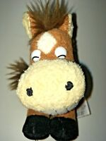 "RUSS Grinnies  Brown Horse 6"" Plush Stuffed Animal"