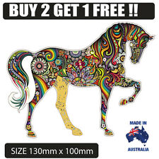 Sugar Skull Horse  Sticker Decal BUY 2 GET 1 FREE colourful