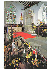Isle of Wight Postcard - Eastertide - Godshill Church      XX267