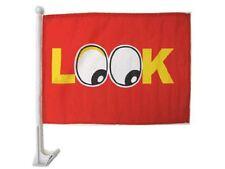 "12x18 Look Eyes Red Car Window Vehicle 12""x18"" Flag"