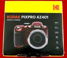 "*BRAND NEW!* KODAK PIXPRO AZ401 RED 16 MP 40X OPTICAL ZOOM DIGITAL CAMERA 3"" LCD"