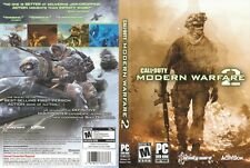 Call of Duty Modern Warfare 2 PC IBM WIN VISTA XP COMPLETE DVD ROM Mature Game