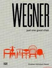 Fachbuch Hans J. Wegner, Just One Good Chair, tolles Buch mit vielen Bildern OVP
