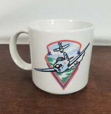 Sky Warriors Aerial Laser Combat Pilot Coffee Tea Mug Cup Airplane Jet