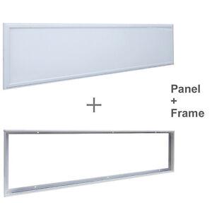40W Ceiling SURFACE MOUNT LED Panel White Light Office Lighting 1200 x 300