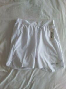 "Skins -  Mens Skintek Nore 8"" Inch Gym Shorts - BNWT- Size M - RRP £30"