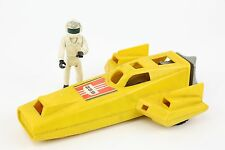 Vintage 1980 Fisher Price Adventure People Land Speed Racer Car & Figure Toy