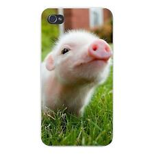 Cute Baby Pig Piglet Closeup in Grass FITS iPhone 4 4s Snap On Case Cover New