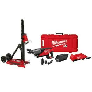 Milwaukee MXF301-2CXS MX  Handheld Core Drill Kit w/ Stand