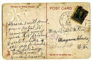WV-W.VA=HAZELTON-Doane 2/1 Cxl-PPC Greeting-Hope you Have Your Health-1909