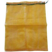 More details for 50 x 70 log kinderling vegtable (orange) mesh net strong woven bags sacks