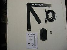 NEW TV Free-Way HD Digital Antenna As Seen On TV Telebrands Complete Setup