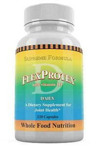 Natural Joint Supplement Herbal Pain Relief FlexProtex D Flex Protex Turmeric
