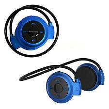 Wireless Stereo Bluetooth Headset Earphone Headphones FM MP3 TF Card Microphone