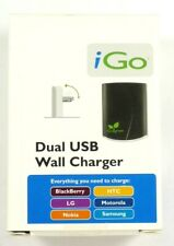 iGo Green Double USB Wall Charger for Cell Phone,with A32,A92,A97,A129 Tips+