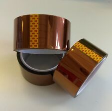 Kapton Tape Heat Resistant Insulating 48mm x 33m 100ft Polymide US Seller 18650