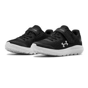 Under Armour Boys Surge 2 AC PS Running Shoes Trainers Sneakers Black Sports