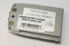 Genuine Original LG LG-5350 Replacement Rechargeable Li-Ion Battery 3.6V 950mAh