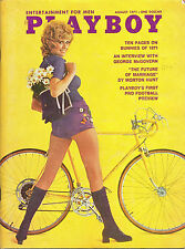PLAYBOY August 1971-Bunnies Review,George McGovern Intvw,First Football Preview