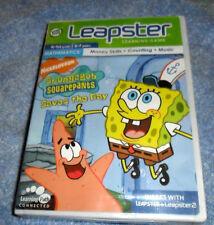 Leap Frog Leapster Spongebob Squarepants Music Learning Game 4-6 Yrs.