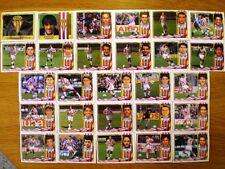ESTE LIGA 95/96 - LOTE 27 CROMOS NUEVOS SPORTING GIJÓN (bajas, fichaje, colocas)